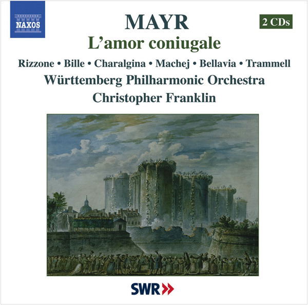 MAYR L'amor coniugale Württemberg Philharmonic Orchestra, Christopher Franklin