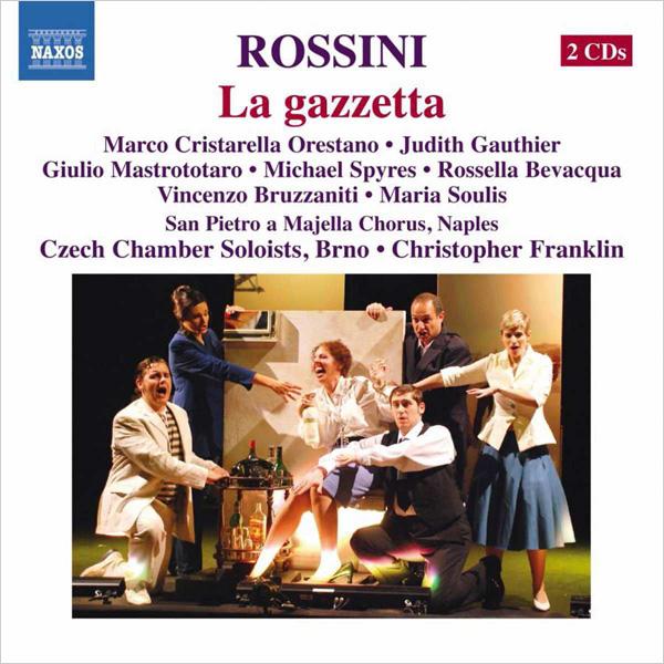 ROSSINI La gazetta Czech Chamber Soloists, Christopher Franklin