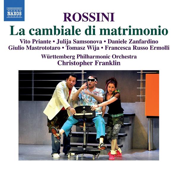 ROSSINI La cambiale di matrimonio Württemberg Philharmonic Orchestra, Christopher Franklin